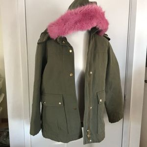 Nwot J.crew  collection  puffer coat